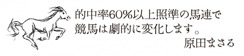 真・原田式馬券術(リスクを極限まで排除した高的中率の馬連) | レジまぐ